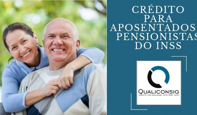 Crédito para aposentados e pensionistas – Qualiconsig!